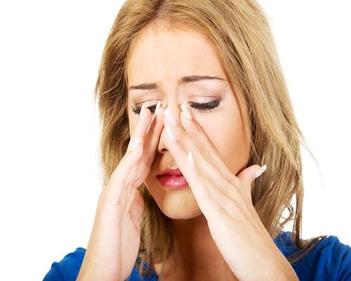 گرفتگی سوراخ بینی بعد از عمل